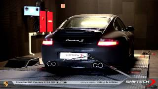 Reprogrammation moteur - Porsche 997 Carrera S 3.8 DFI 341hp @ 358hp - Original exhaust sound HD