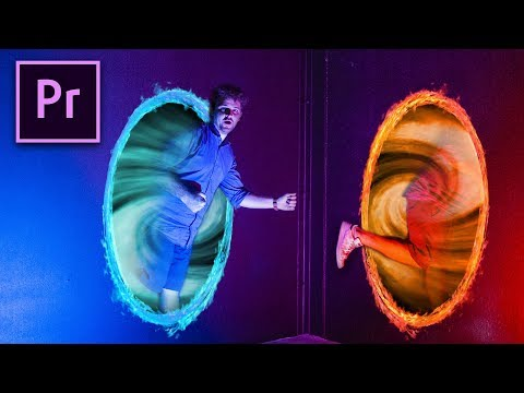 JUMP THROUGH A PORTAL with Premiere Pro