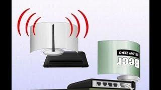 ★ Слабый сигнал Wi-Fi? Решить проблему можно с помощью обычной жестяной банки!