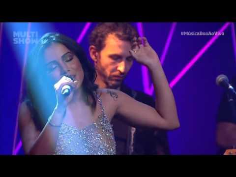 Anitta e Arnaldo Antunes - Socorro Música Boa Ao Vivo