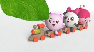 Умные песенки для самых маленьких | Малышарики - Зелёный | музыкальные мультики для самых маленьких