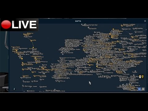 En directo: Euro truck simulator 2-Mega mapa mundial de Mario maps versión 1.26