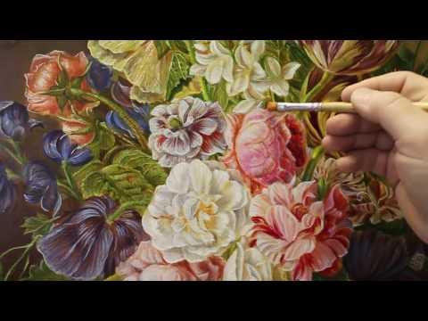Как написать Цветочный натюрморт
