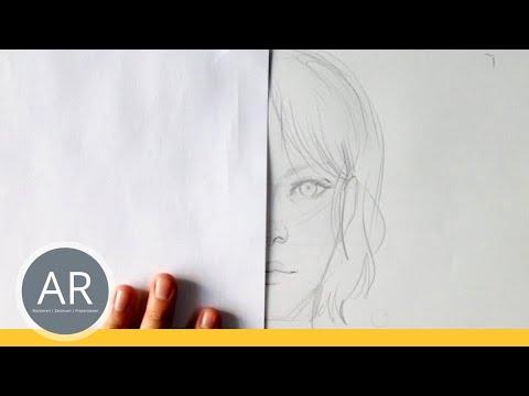 Portrait zeichnen – weibliche  und männliche Gesichtsmerkmale