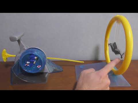 Sonic Movie Spin Dash Launcher Toy