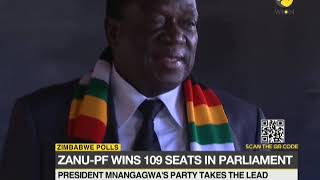Zimbabwe election results: Zanu PF in early lead.