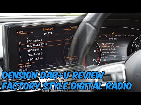 Dension DAB+U Review - Audi MMI - Factory Style Digital Radio