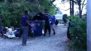 WVU Make A Difference Day (MAD Day) Downtown Clean-Up