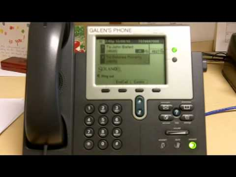 Conference Call Cisco 7940 | 02 Conference Call