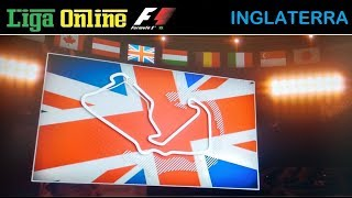 Liga Online F1 - GP de Silvestone - Categoria INICIANTES - AO VIVO