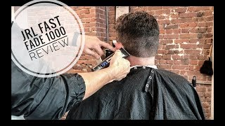 JRL Fast Fade Clipper in Action | Low Skin Fade Clipper Review