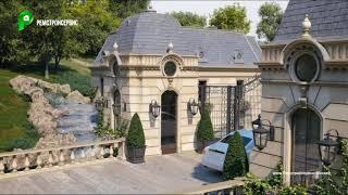 Строительство Виллы, дом-особняк, дворцовый стиль, дом под ключ, загородный дом | РЕМСТРОЙСЕРВИС