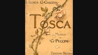 Dame Gwyneth Jones in Tosca with Gianfranco Cecchele, Gabriel Bacquier