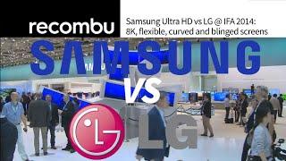 Samsung vs LG Ultra HD @ IFA 2014
