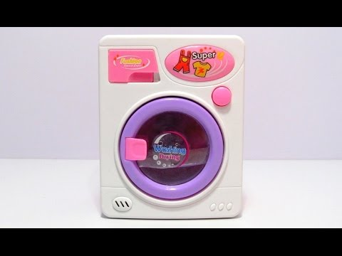 Unboxing Toy Washing Machine Lots of Fun