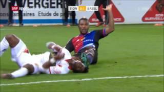 Highlights: FC Sion vs. FC Basel (1:2) - 27.11.2016