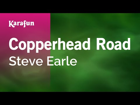 Karaoke Copperhead Road - Steve Earle *