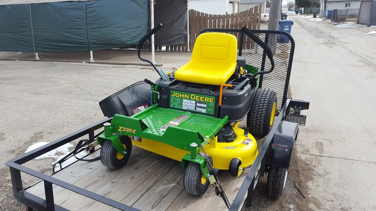 Living the Lawn Care Lifestyle #0 1   New John Deere z335e!
