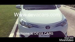 Toyota Yaris for sale used car for sale with zero down payment devacars used car sale in UAE Dubai
