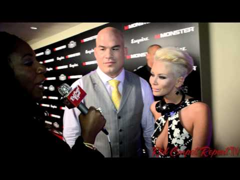 Tito Ortiz & Jenna Jameson At Monster And House Of Hype After Grammys Party @titoortiz @jennajameson