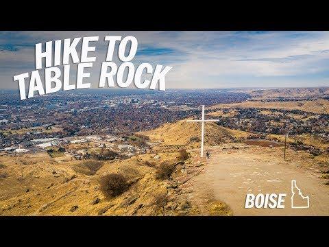 Hike Table Rock   Boise, Idaho (Vlog)