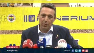 (CANLI YAYIN) Fenerbahçe Başkanı Ali Koç, Malatyaspor maçı sonrası açıklama yapıyor