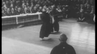 10. Dan Kendo Saimura Goro Sensei in Front of the emperor