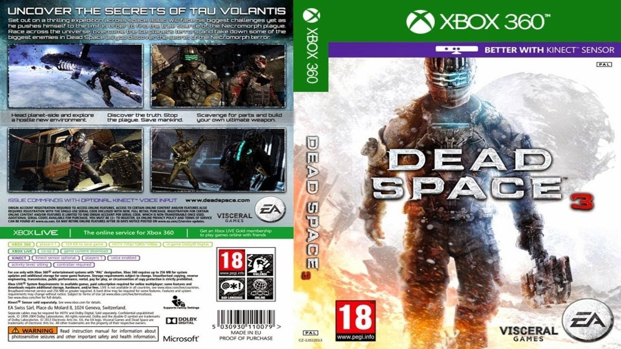Dead Space 3 Dlcs 2013 Jtag Rgh Xbox 360 Download Torrent