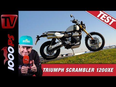 Triumph Scrambler 1200 XE in der Praxis - Erste Erfahrungen im Dauertest