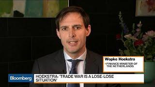 Dutch Finance Minister Hoekstra Says Brexit a 'Tragedy'