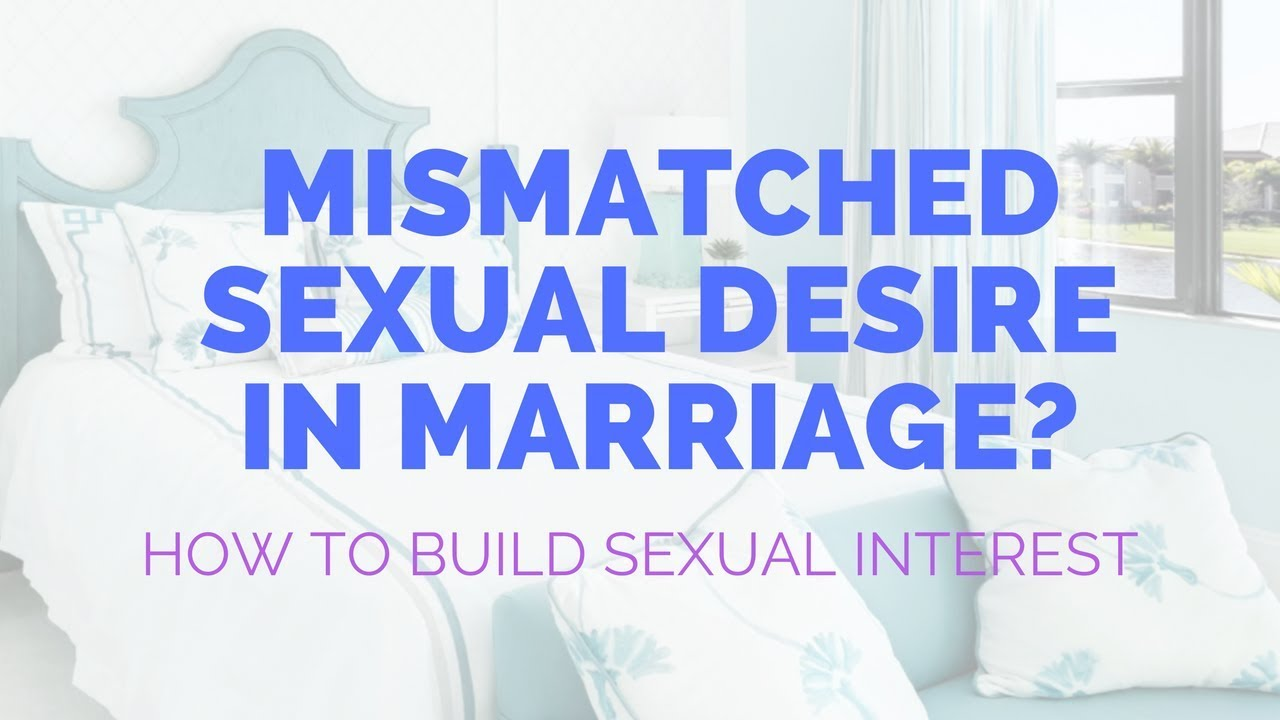 Sexual desire in marriage
