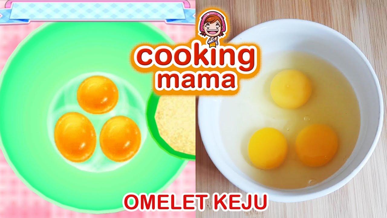 NGIKUTIN RESEP COOKING MAMA   OMELET KEJU