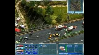 Emergency 4 mission 5 - Motorway bridge collapses [PL](Zawalony most! Gra Emergency 4 misja 5 solucja 100% Game Emergency 4 mission 5 walkthrough 100%, 2013-06-23T10:46:37.000Z)