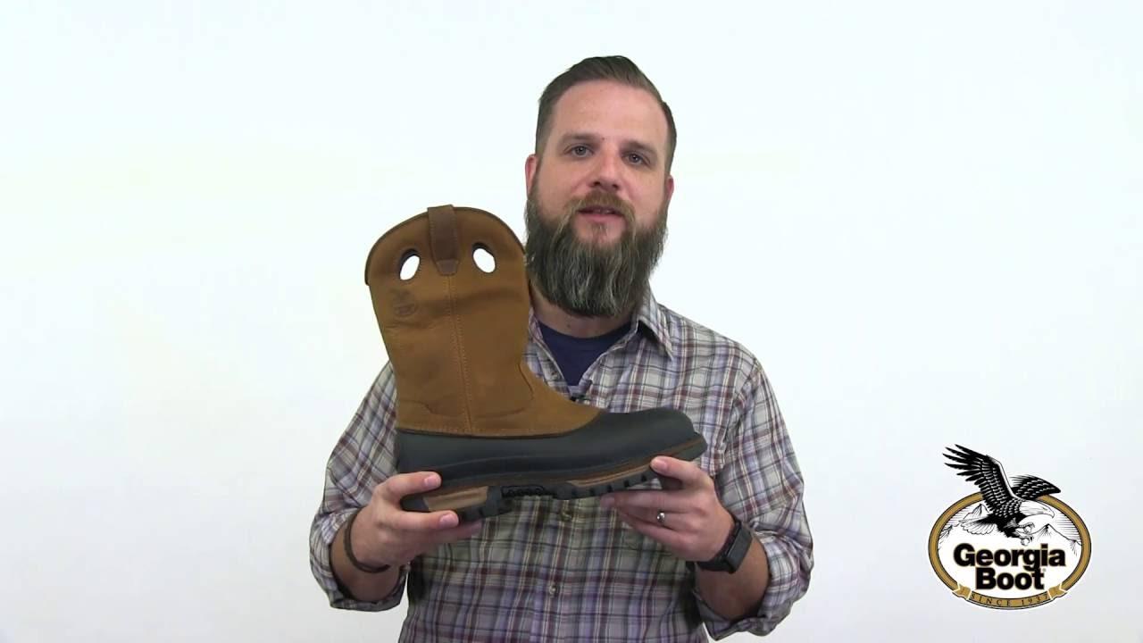 Georgia Boot Muddog Wellington Work