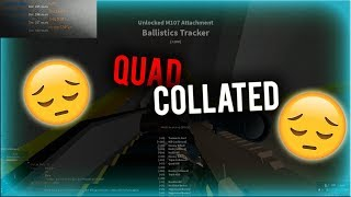 I GOT QUAD COLLATED... (ROBLOX)