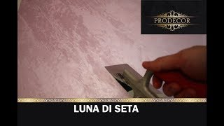 Шелковая штукатурка LUNA DI SETA.Как наносить шелк на стену 2 мастер-класса!