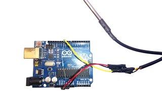 Подключение датчика температуры DS18B20 к Arduino
