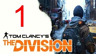 The Division Gameplay - The Division Walkthrough part 1 Opening E3 Demo