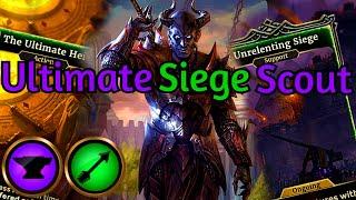 Ultimate Heist! Unrelenting Siege Scout | The Elder Scrolls Legends