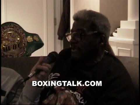 Bouie Fisher Throwback Interview In Bernard Hopkins Suite Following Joppy Fight