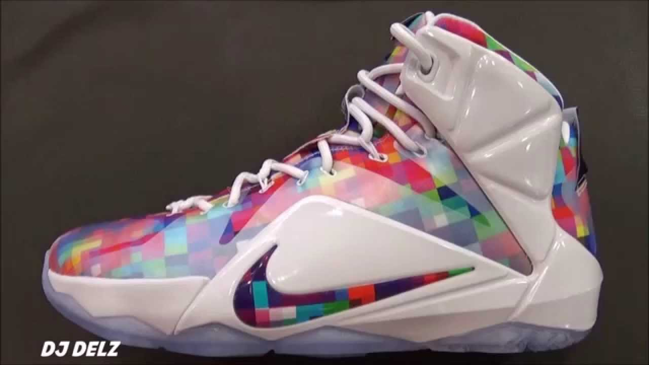 d46de0d57e2 Nike Lebron 12 Finish Your Breakfast Sneaker - YouTube
