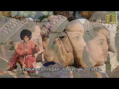Garibim   Türkmen Türkçesi -şarkı-  Türkmence Türkiye Türkçesi Altyazılı HD-turkmen song