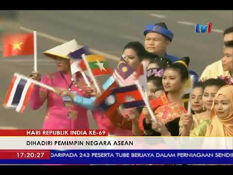 PM NAJIB, PEMIMPIN ASEAN HADIRI HARI REPUBLIK INDIA KE-69 DI NEW DELHI [26 JAN 2018]
