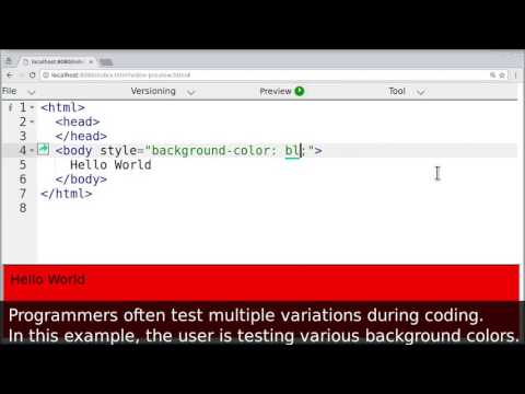 Micro-Versioning Tool to Support Experimentation in Exploratory