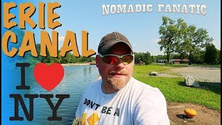Erie Canal New Y๐rk Free Camping