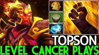 TOPSON [Ember Spirit] Level Cancer Plays Annoying in Combat 7.21 Dota 2
