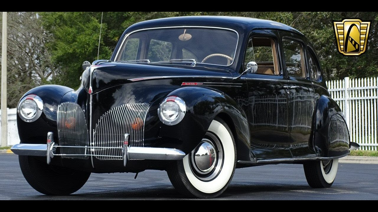1940 Lincoln Zephyr Gateway Orlando #734 - YouTube