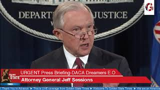 BREAKING NEWS: Attorney General Jeff Sessions ENDS The DACA DREAMER  Program!! Free HD Video