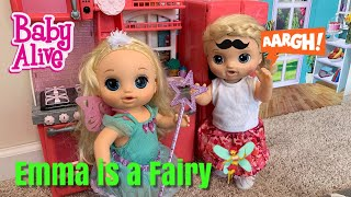 Baby Alive Emma Turns in a Magical Fairy 🧚♀️ morning Routine
