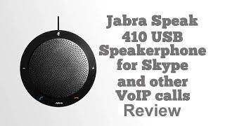 Jabra Speak 410 USB Speakerphone For Skype Review